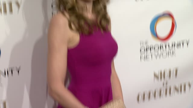 jennifer maxfield at the opportunity networks 7th annual night of opportunity at cipriani wall street on april 07 2014 in new york city - cipriani wall street stock videos & royalty-free footage