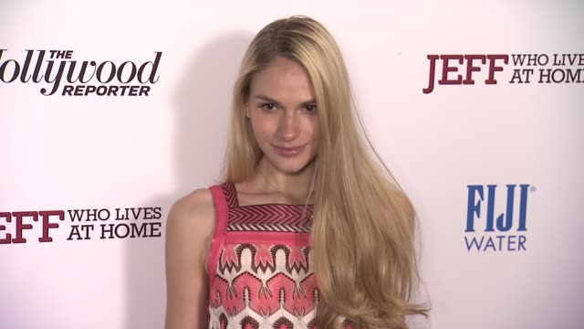 jennifer missoni at jeff who lives at home new york screening on 3/12/2012 in new york ny united states - missoni stock videos & royalty-free footage
