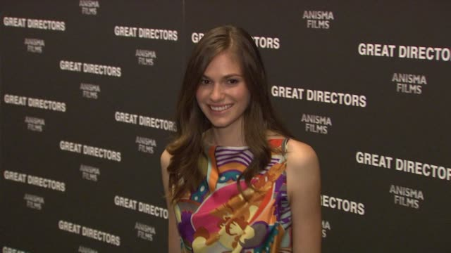 jennifer missoni at the 'great directors' new york premiere at new york ny - missoni stock videos & royalty-free footage