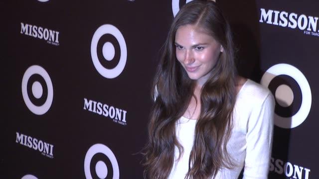 vídeos de stock, filmes e b-roll de jennifer missoni at the missoni for target private launch event at new york ny - missoni