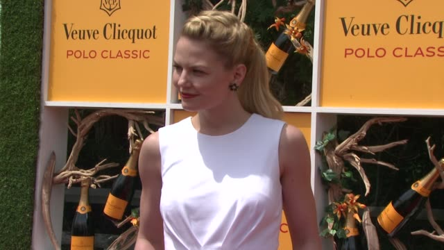 jennifer morrison at the fifth annual veuve clicquot polo classic at liberty state park on june 02 2012 in jersey city new jersey - 動物を使うスポーツ点の映像素材/bロール