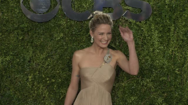 jennifer nettles at 2015 tony awards arrivals at radio city music hall on june 07 2015 in new york city - radio city music hall stock videos & royalty-free footage