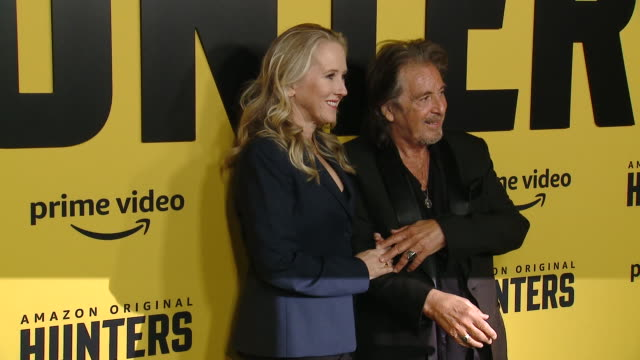 jennifer salke al pacino at the world premiere of amazon original hunters at dga theater on february 19 2020 in los angeles california - al pacino stock videos & royalty-free footage