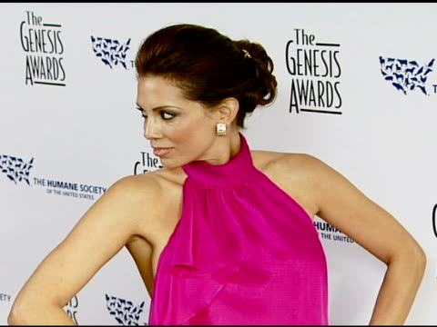 Jennifer Santiago at the 2008 Genesis Awards at the Beverly Hilton in Beverly Hills California on March 30 2008
