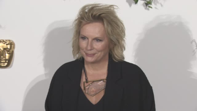 jennifer saunders at bafta breakthrough brits reception at burberry on october 25 2016 in london england - jennifer saunders stock videos & royalty-free footage
