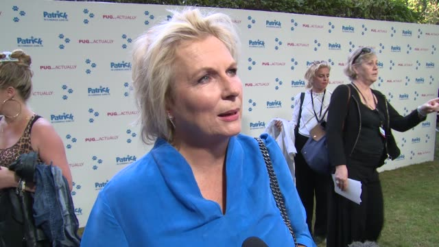 jennifer saunders on her role parental pride and football on june 27 2018 in london england - jennifer saunders stock videos & royalty-free footage