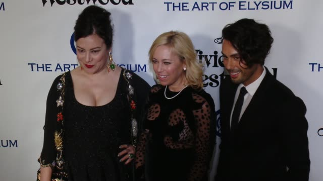 jennifer tilly and sutton stracke at the the art of elysium's ninth annual heaven gala at 3labs on january 9 2016 in culver city california - jennifer tilly stock videos & royalty-free footage