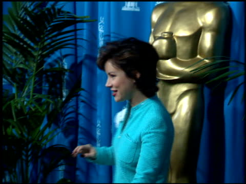 Jennifer Tilly at the 1995 Academy Awards Luncheon at the Beverly Hilton in Beverly Hills California on March 14 1995