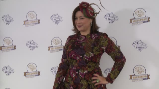jennifer tilly at the 2014 breeders' cup world championships in los angeles ca on - jennifer tilly stock videos & royalty-free footage