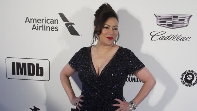 jennifer tilly at the 27th annual elton john aids foundation academy awards viewing party sponsored by imdb and neuro drinks on february 24 2019 in... - jennifer tilly stock videos & royalty-free footage