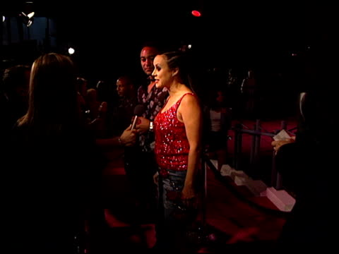 jennifer tilly at the absolut party at arena in los angeles california on may 20 1999 - jennifer tilly stock videos & royalty-free footage