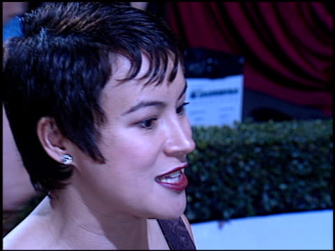 jennifer tilly at the 'evita' premiere at the shrine auditorium in los angeles california on december 14 1996 - jennifer tilly stock videos & royalty-free footage