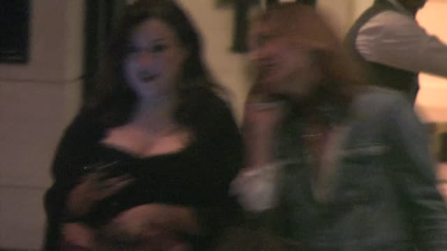 jennifer tilly at the london hotel in west hollywood - jennifer tilly stock videos & royalty-free footage