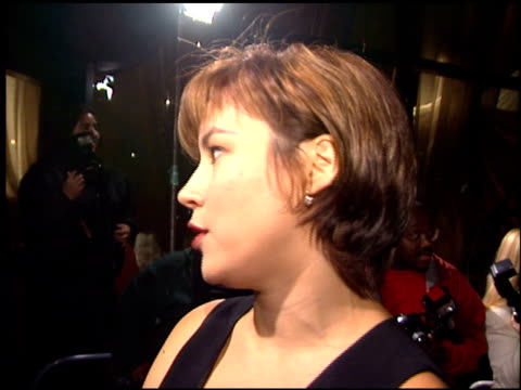jennifer tilly at the 'love affair' premiere at dga theater in los angeles california on october 13 1994 - jennifer tilly stock videos & royalty-free footage