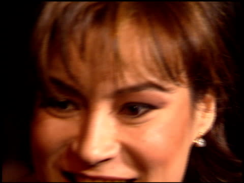 jennifer tilly at the 'ready to wear' premiere on december 20 1994 - 1994 stock videos & royalty-free footage