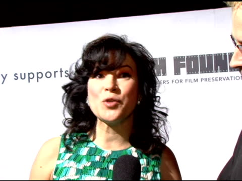 jennifer tilly on why she came to support marc jacobs why marc jacobs clothing attracts people of all ages her first marc jacobs item wearing marc... - jennifer tilly stock videos & royalty-free footage