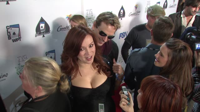 Jennifer Tilly Phil Laak at the 7th Annual World Poker Tour Invitational at Los Angeles CA