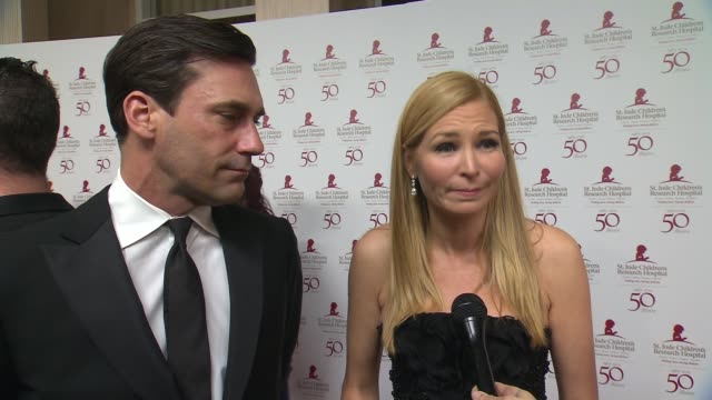jennifer westfeldt on why this is such a special cause for them - jennifer westfeldt stock videos and b-roll footage
