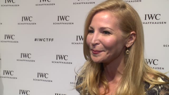 INTERVIEW Jennifer Westfeldt talks about why she loves the Tribeca Film Festival at IWC Schaffhausen Fourth Annual For the Love of Cinema Gala During...