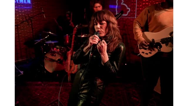 Jenny Lewis performs onstage at Collide/Netflix during the 2019 SXSW Conference and Festivals at Banger's on March 11 2019 in Austin Texas