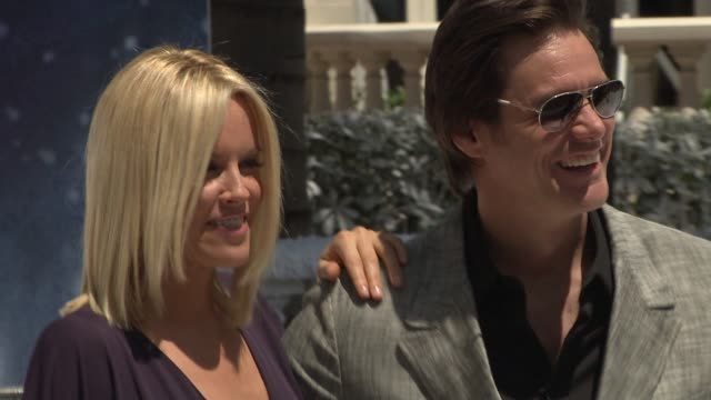 Jenny McCarthy Jim Carrey at the Cannes Film Festival 2009 A Christmas Carol Press Event at Cannes