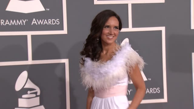 Jenny Oaks Baker at 54th Annual GRAMMY Awards Arrivals on 2/12/12 in Los Angeles CA