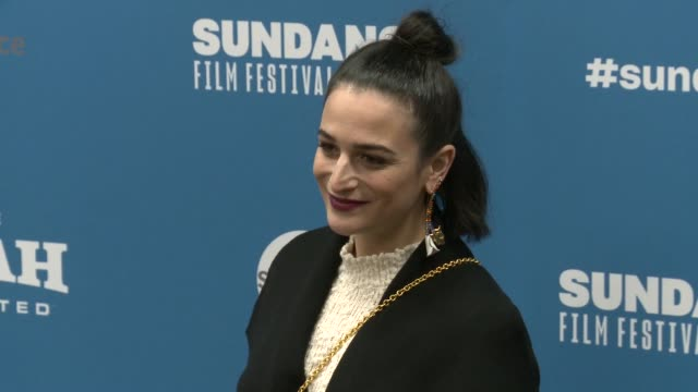 stockvideo's en b-roll-footage met jenny slate at 'the sunlit night' premiere 2019 sundance film festival at eccles center theatre on january 26 2019 in park city utah - sundance film festival