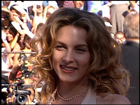 Jensen Daggett at the 1996 Emmy arrivals at the Pasadena Civic Auditorium in Pasadena California on September 8 1996