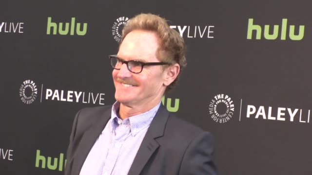 jere burns at the paleylive an evening with angie tribeca at paley center for media in beverly hills in celebrity sightings in los angeles, - paley center for media los angeles stock videos & royalty-free footage