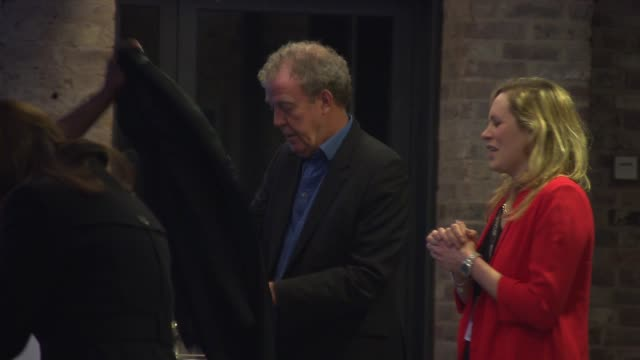 jeremy clarkson at roundhouse gala on march 19 2015 in london england - jeremy clarkson stock videos & royalty-free footage