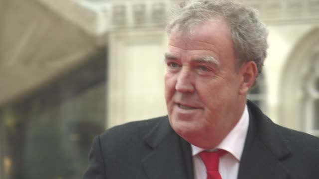 jeremy clarkson at the sun military awards lunch on january 22 2016 in london england - jeremy clarkson stock videos & royalty-free footage
