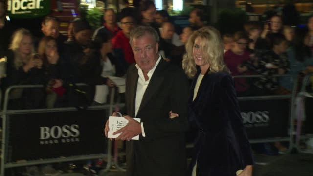 jeremy clarkson on september 05 2017 in london england - jeremy clarkson stock videos & royalty-free footage