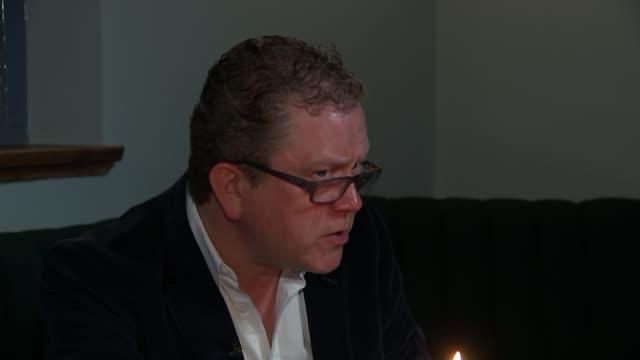 jeremy corbyn and david cameron first pmqs exchange jon culshaw interview sot - jon culshaw stock videos & royalty-free footage