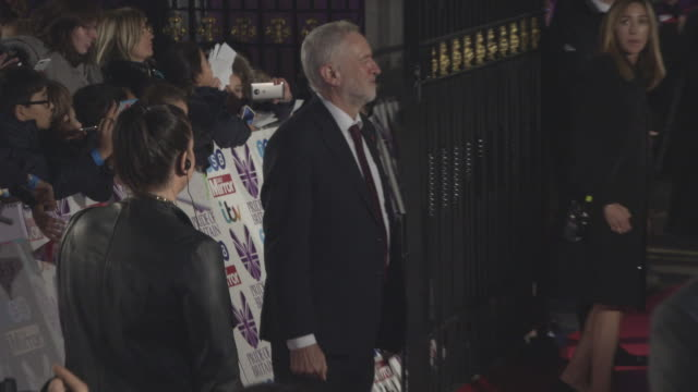 Jeremy Corbyn at Pride of Britain Awards 2017 at ExCel on October 30 2017 in London England
