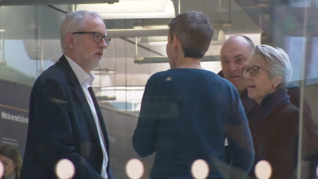 jeremy corbyn being criticised by mp mary creagh after labour's landslide defeat in the general election - distraught stock videos & royalty-free footage