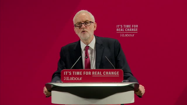 jeremy corbyn condemning antisemitism during the launch of labour's 'race and faith' manifesto - general election stock videos & royalty-free footage