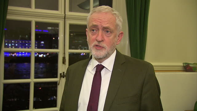 Jeremy Corbyn criticising the directors of Carillion and empathising with the employees affected by its liquidation