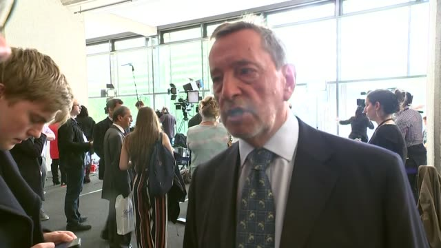 jeremy corbyn elected as labour leader; david blunkett interview sot - i think translating from being against and being a maverick into being a party... - david blunkett stock videos & royalty-free footage