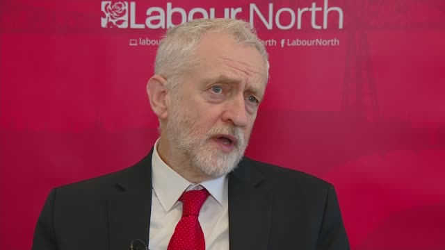 Newcastle INT Jeremy Corbyn MP interview SOT Talks of tit for tat retaliation between the UK and Russia over the nerve agent attack on former Russian...