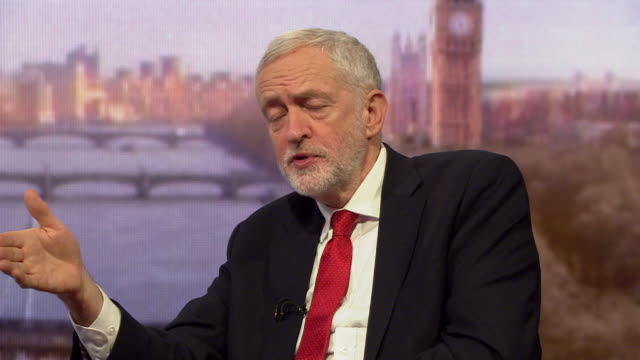 Jeremy Corbyn saying a Labour government would invest immediately in the NHS
