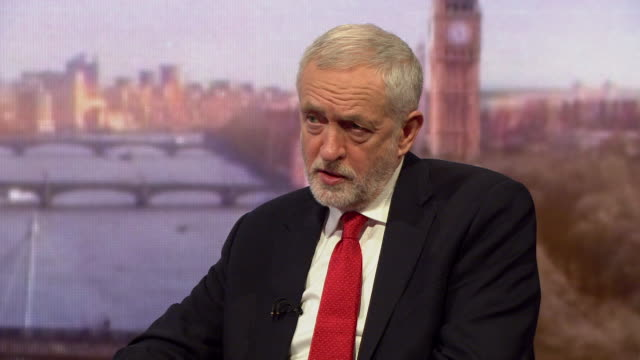 Jeremy Corbyn saying he ceased to work with Iran's Press TV when they treated the Green movement the way they did and that he always brought up human...