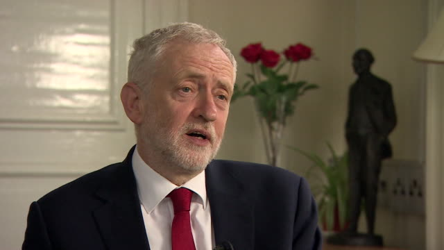 Jeremy Corbyn saying he hopes Labour does well in the local elections