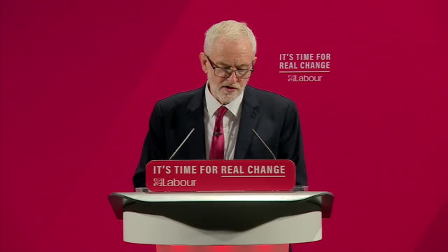 "jeremy corbyn saying he is ""very proud"" to launch the labour party's 'race and faith' manifesto - labour party stock videos & royalty-free footage"