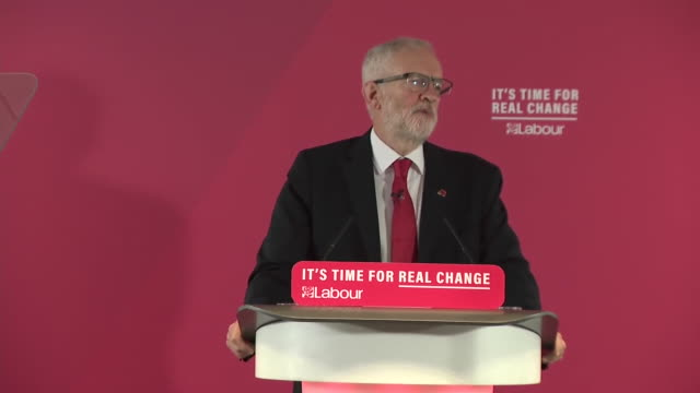 jeremy corbyn saying he wasn't born to rule and he believes in sharing power and wealth - sharing stock videos & royalty-free footage