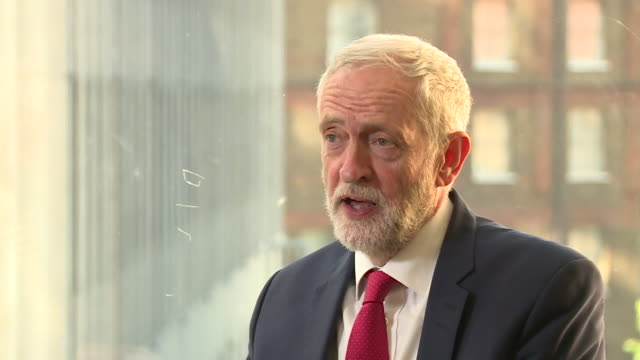 jeremy corbyn saying labour cannot support theresa may's new brexit withdrawal bill as it is just a rehash of what was discussed before - bill legislation stock videos & royalty-free footage