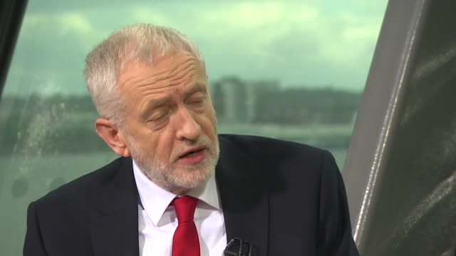 jeremy corbyn saying labour would vote down the government's brexit plan if it didn't meet their sixpoint criteria - nummer 6 bildbanksvideor och videomaterial från bakom kulisserna