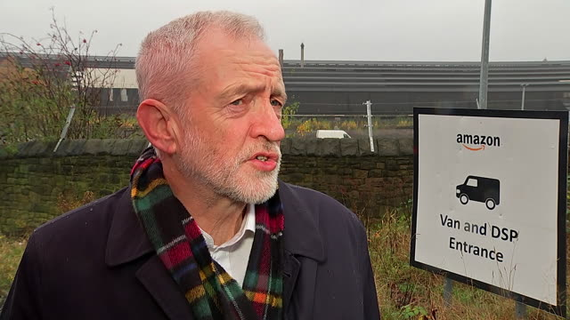 jeremy corbyn saying listening to everyone in regards to brexit is a sign of strength and a sign of maturity after confirming he would remain neutral... - mature adult stock videos & royalty-free footage