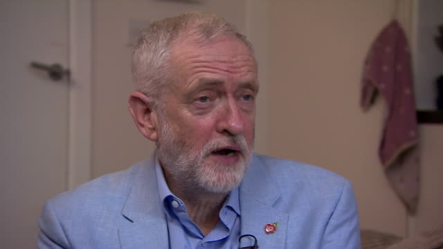 """jeremy corbyn saying nigel farage's decision to not run in the 2019 general election is """"a bit weird"""" - surreal stock videos & royalty-free footage"""