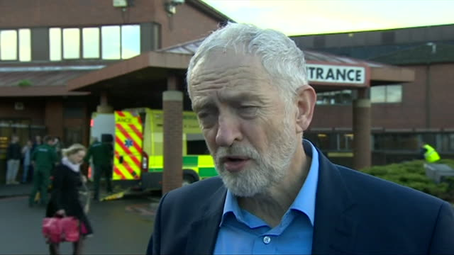 Jeremy Corbyn saying Private Finance Initiatives cost more money over a longer period and that 'borrowing in the traditional way will save us a lot...