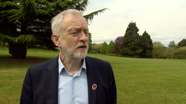 Jeremy Corbyn saying that he 'doesn't do namecalling or personal abuse' and that his party will be 'putting forward a serious debate'